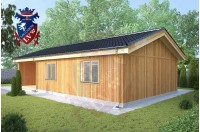 Residential Cabins Rochester 6.5m x 11.5m 736 1