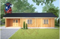 Residential Cabins Rochester 6.5m x 11.5m 736 3