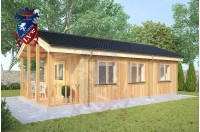 Residential Cabins Sandwich 4.5m x 9.0m 723 4