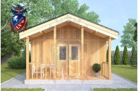 Residential Cabins Sandwich 4.5m x 9.0m 723 1