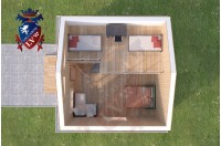 Residential Cabins Thanet 6.0m x 5.8m 738 7