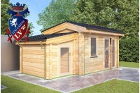 Log Cabins Wilmington 4.0m x 3.0m 780 3
