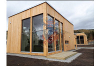 log cabins sussex Siberian Larch Clad Fully Insulated Garden Office Maria Teresa (6.0m x 4.0m) -9
