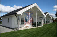 Log Cabins Sussex Siberian Larch Clad Fully Insulated Garden Office Catherine 6.0m x 4.0m-10