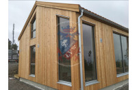 log cabins sussex Siberian Larch Clad Fully Insulated Garden Office Maria Teresa (6.0m x 4.0m) -5