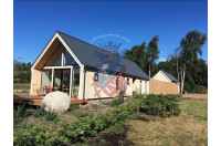 log cabins sussex Siberian Larch Clad Fully Insulated Garden Office Maria Teresa (6.0m x 4.0m) -8