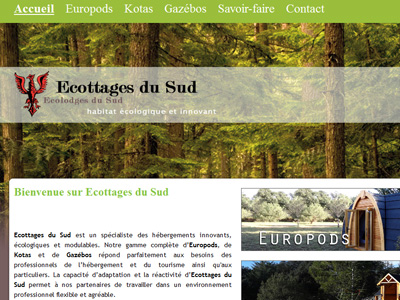 Log cabins ecottages-du-sud