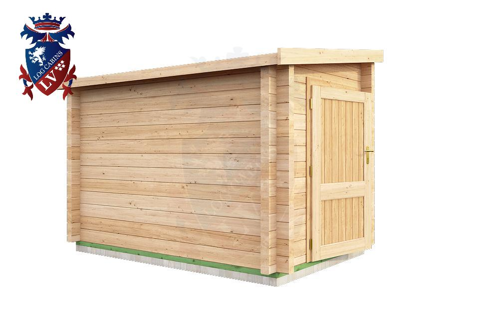 Log Cabins Lean To Shed 3