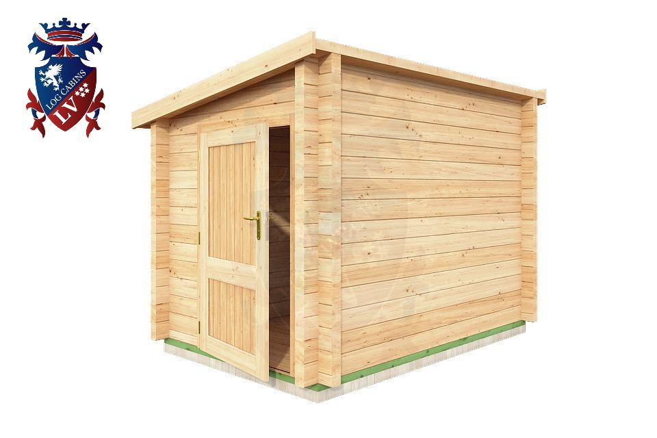 Log Cabins Lean To Shed 2